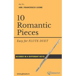 10 Romantic Pieces (2 Flauti)