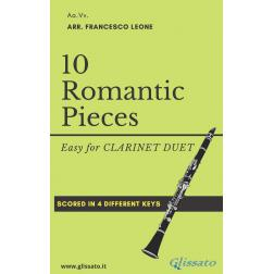 10 Romantic Pieces (2 Clarinetti)