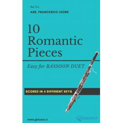 10 Romantic Pieces (2 Fagotti)