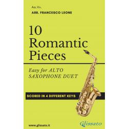 10 Romantic Pieces ( 2 Sax Alto )