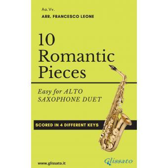 10 Romantic Pieces ( 2 Sax Alto )