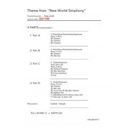 """Tema """"Dal nuovo mondo"""""""