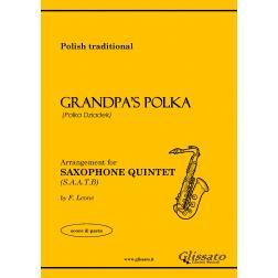 Grandpa's Polka (5 Sax)