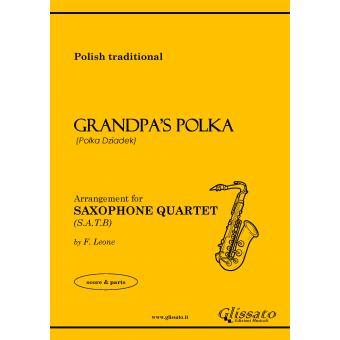 Grandpa's Polka (4 Sax)