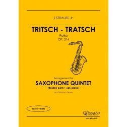 Tritsch - Tratsch Polka (sax 5et)
