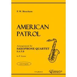 American Patrol (4 sax)