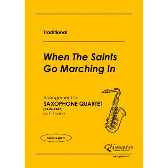 When The Saints Go Marching In (Quartetto di Sassofoni)