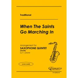 When the saints go marching in_(5 sax)