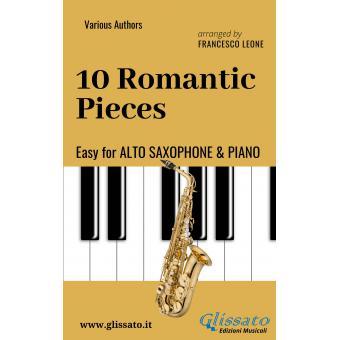 10 Romantic Pieces (Alto Sax & Piano)