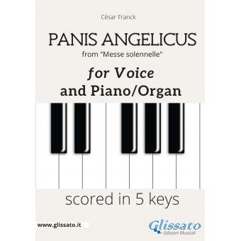 Panis Angelicus - Voce e piano/organo (in 5 tonalità)