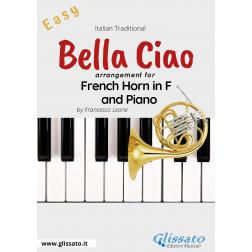 Bella Ciao - French Horn in F and Piano