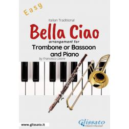Bella Ciao - Trombone or Bassoon and Piano