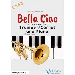 Bella Ciao - Trumpet or Cornet and Piano