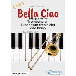 Bella Ciao - Trombone or Euphonium (T.C.) and piano