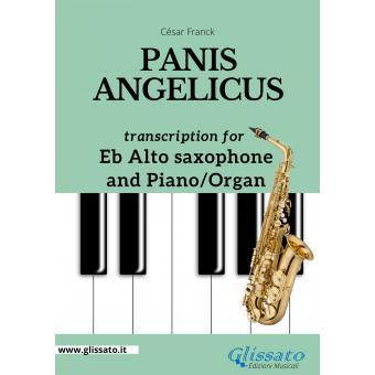 Panis Angelicus - Eb Alto Sax and Piano/Organ
