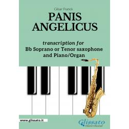Panis Angelicus - Bb  Soprano or Tenor Sax and Piano/Organ