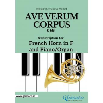 Ave Verum Corpus - French Horn in F and Piano/Organ