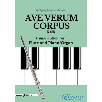 Ave Verum Corpus - Flute and Piano/Organ