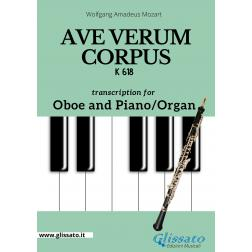 Ave Verum Corpus - Oboe and Piano/Organ