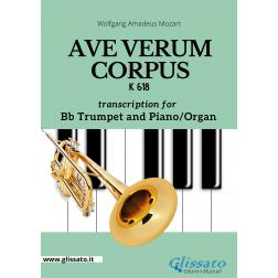 Ave Verum Corpus -  Bb Trumpet and Piano/Organ