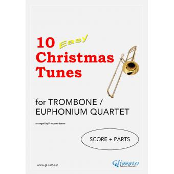 10 Easy Christmas Tunes (Trombone 4et)