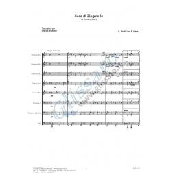 Coro di Zingarelle (brass 8et)