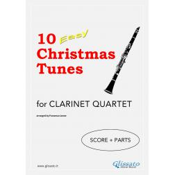 10 Easy Christmas Tunes (Clarinet 4et)