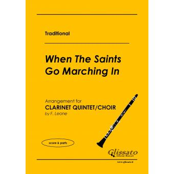 When The Saints Go Marching In (5 Clarinetti)