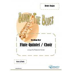 Bluin' The Blues (quintetto/coro di flauti)