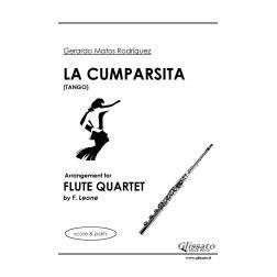 La Cumparsita (4 Flauti)