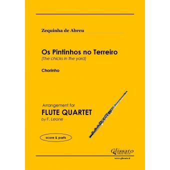Os Pintinhos no Terreiro (4 Flauti)