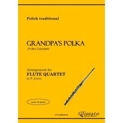 Grandpa's Polka (4 flauti)
