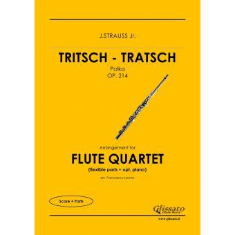 Tritsch - Tratsch Polka (4 flauti)