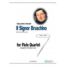 Il Signor Bruschino (4 flauti)