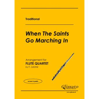 When The Saints Go Marching In (4 Flauti)