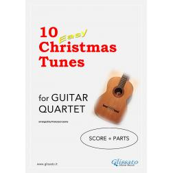 10 Easy Christmas Tunes (Guitar 4et)