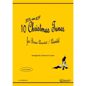10 Easy Christmas Tunes (Brass 4et/5et)
