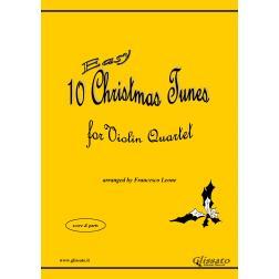 10 Easy Christmas Tunes (Violin 4et)