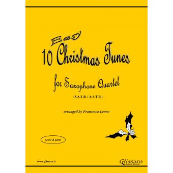 10 Easy Christmas Tunes (Sax 4et)