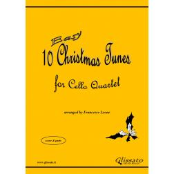 10 Easy Christmas Tunes (Cello 4et)