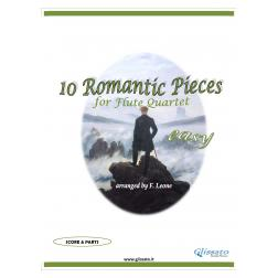10 Romantic Pieces  (Flute 4et easy)