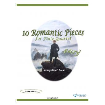 10 Romantic Pieces  (Flute 4et easy)