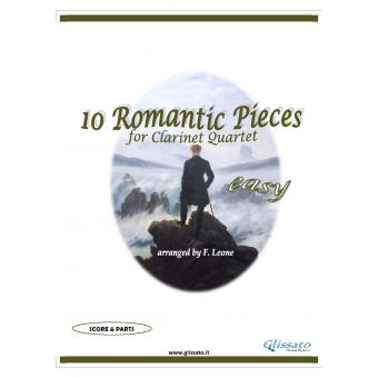 10 Romantic Pieces  (Clarinet 4et easy)