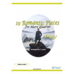 10 Romantic Pieces  (Horn 4et easy)