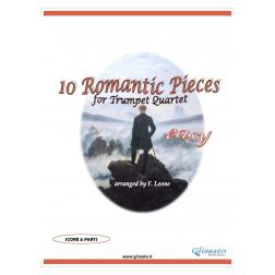 10 Romantic Pieces  (Trumpet 4et easy)