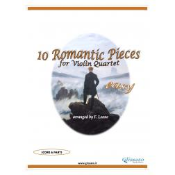10 Romantic Pieces  (Violin 4et easy)