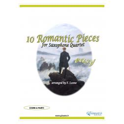 10 Romantic Pieces (Sax quartet - Easy)