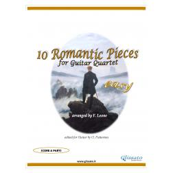 10 Romantic Pieces  (Guitar 4et easy)