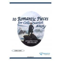 10 Romantic Pieces  (Cello 4et easy)