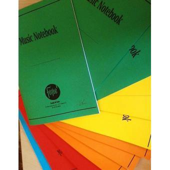 12 Quaderni di Musica A4 (personalizzati)